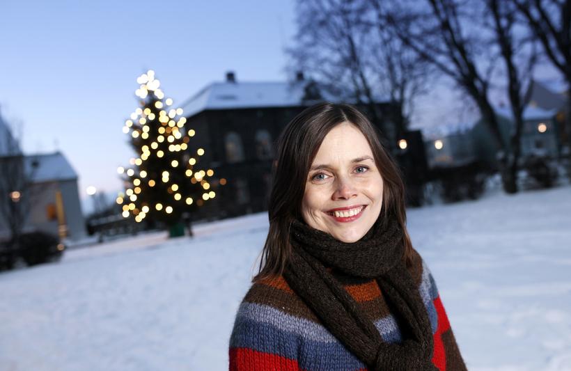 Katrín Jakobsdóttir, formaður VG