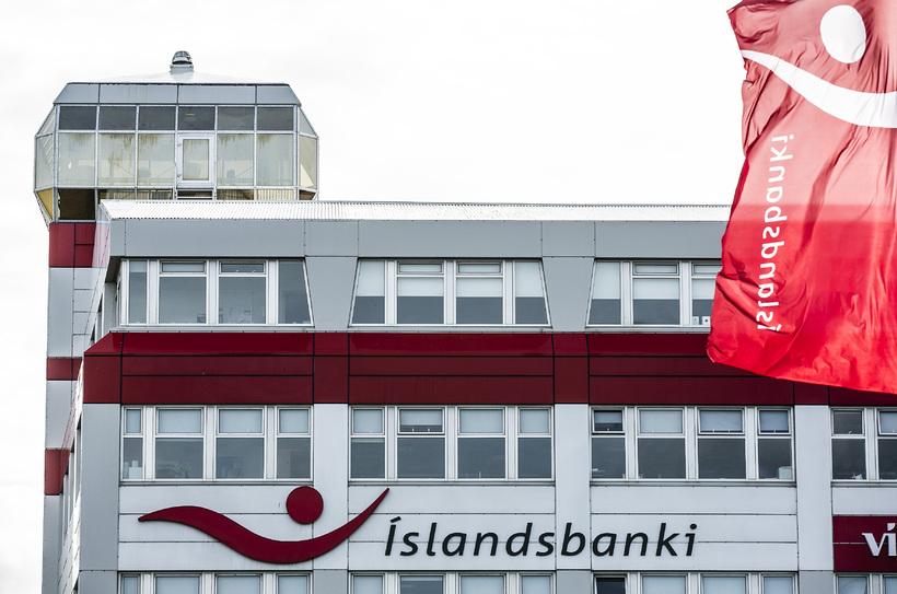 Mygla hefur greinst í höfuðstöðvum Íslandsbanka.