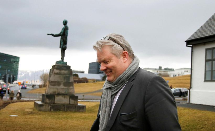 Sigurður Ingi Jóhannsson forsætisráðherra.