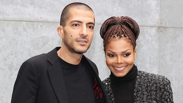 Wissam Al Mana og Janet Jackson.