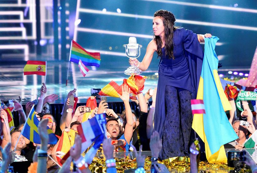 Ukraine's Jamala won Eurovision 2016, beating Australia into second place.