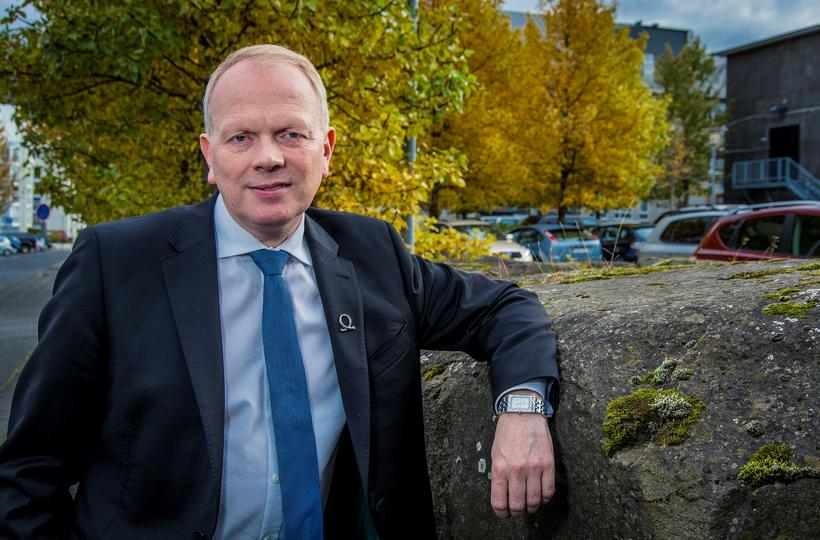 Illugi Gunnarsson, Minister for Education.