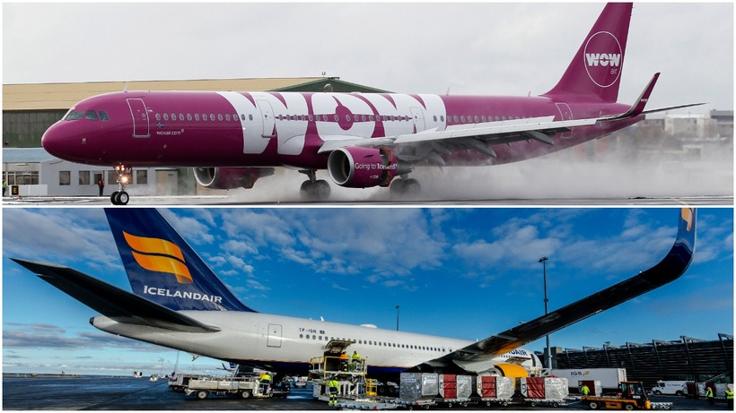 Iceland's two international airlines are worried about the damage to ...
