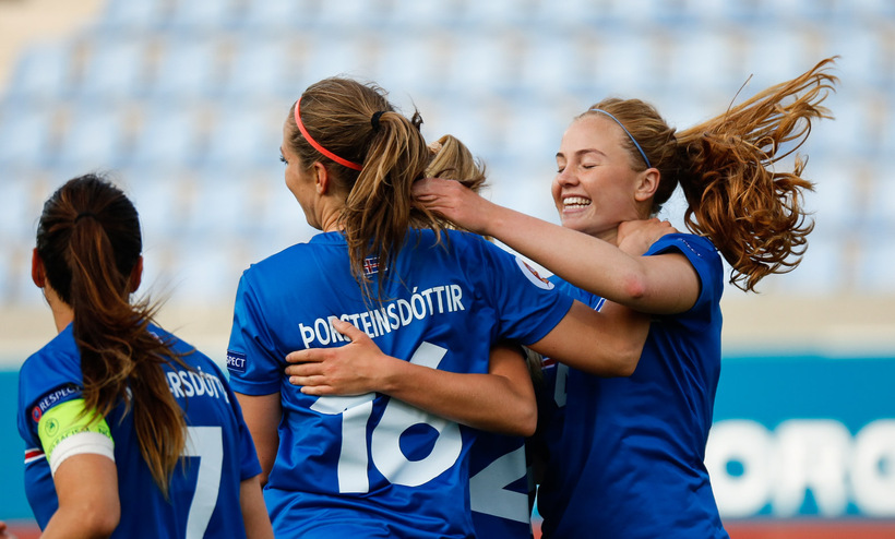 Iceland's women have reached the Euro quarter-finals three times.