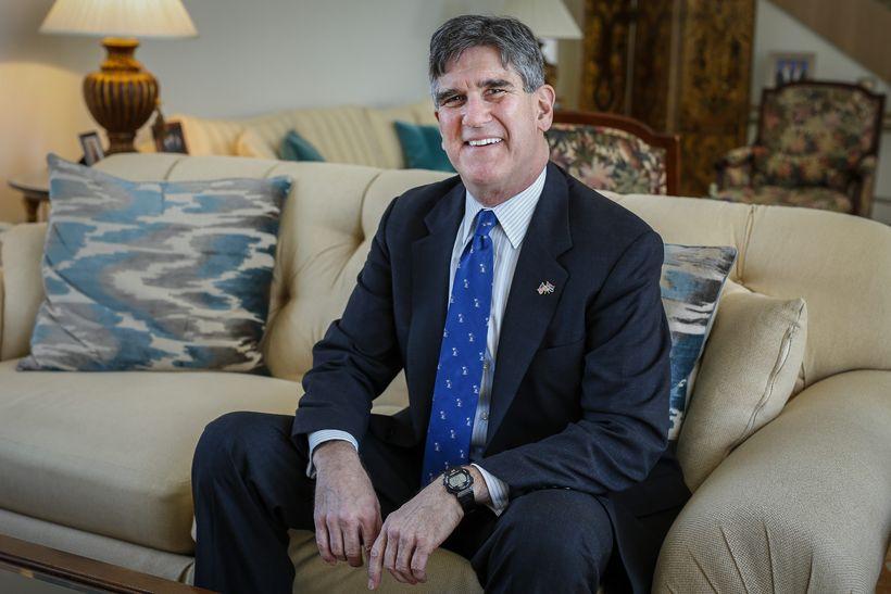 Robert Barber, US ambassador to Iceland.