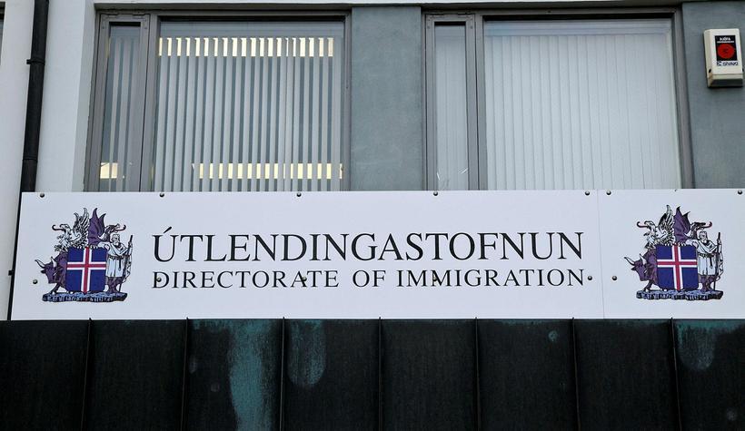 Hópurinn vill að mæðgunar fái hæli á Íslandi.