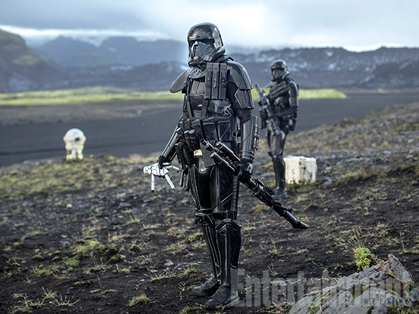 Deathtroopers on another planet - or is it Iceland?