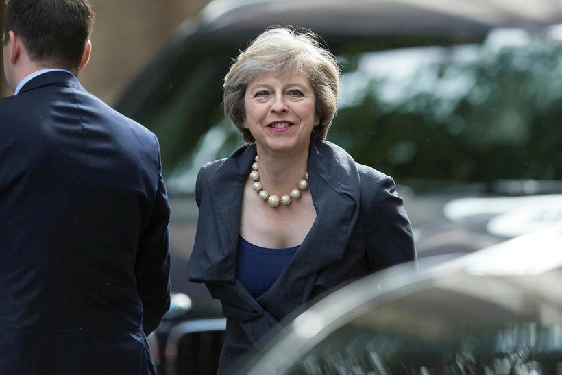 Theresa May verður annar kvenkyns forsætisráðherra, á eftir samflokkskonu sinni ...