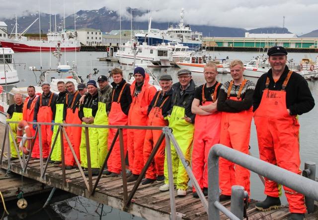 Félagsmenn Hrollaugar á Hornafirði.