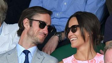 James Matthews og Pippa Middleton munu ganga í það heilaga ...
