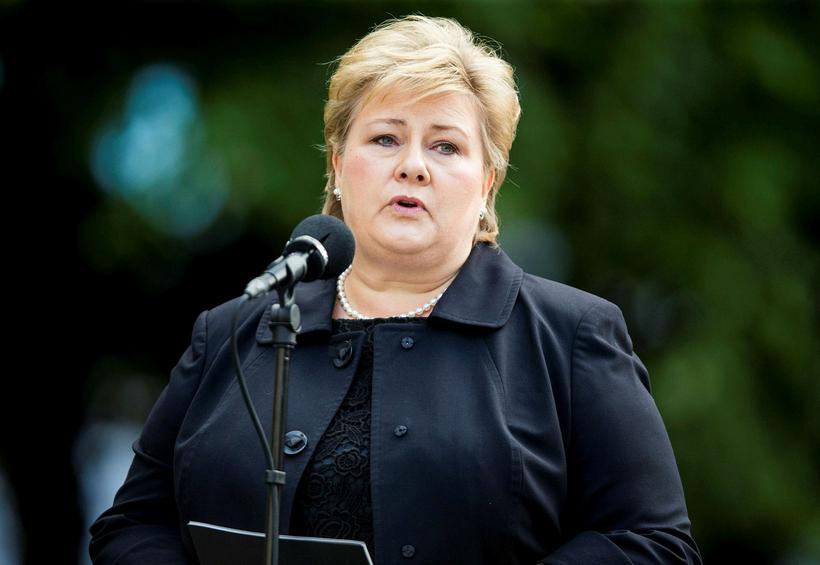 Erna Solberg, forsætisráðherra Noregs.