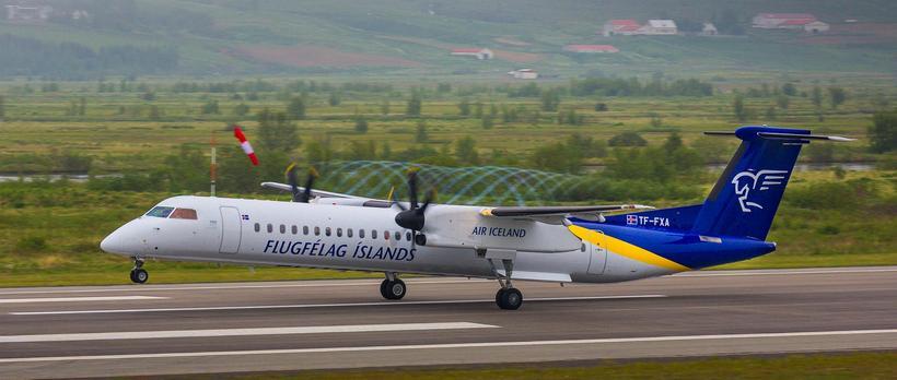 Flugfélag Íslands er líklega eitt þekktasta vörumerki hér á landi.