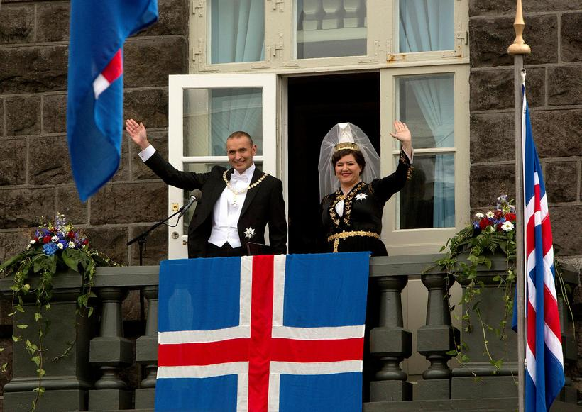 Guðni Th. Jóhannesson became President of Iceland yesterday, August 1st.