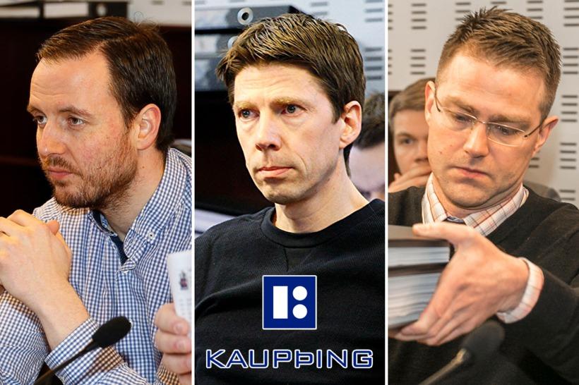 Birnir Sær Björnsson, Einar Pálmi Sigmundsson og Pétur Kristinn Guðmarsson