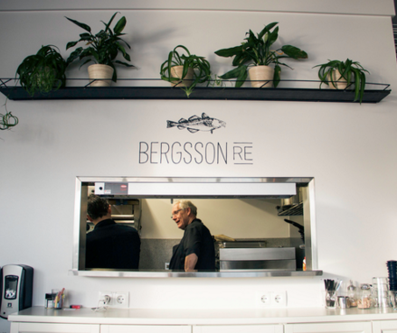 Bergsson RE fish restaurant is open for lunch only.
