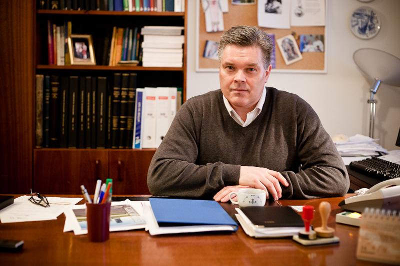 Sr. Svavar Alfreð Jónsson, sóknarprestur við Akureyrarkirkju.