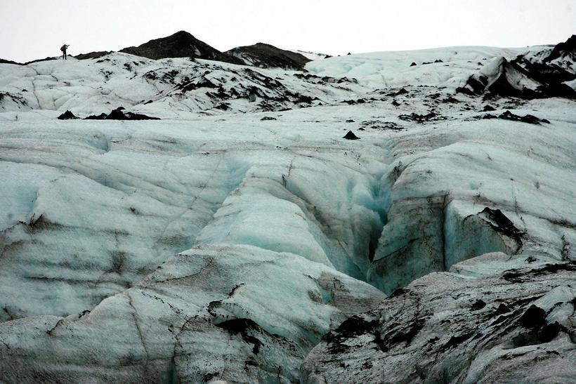 Sólheimajökull er einn tveggja skriðjökla hér á landi sem flestir ...
