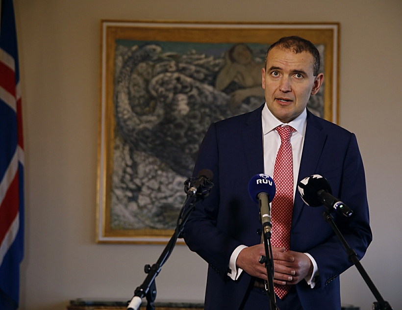 President of Iceland, Guðni Th. Jóhannesson.
