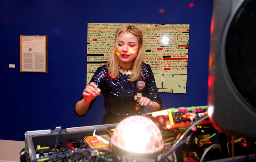 Steinunn Harðardóttir, aka DJ Flugvél og Geimskip