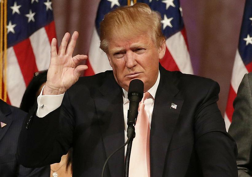 Verðandi forseti Bandaríkjanna, Donald Trump.