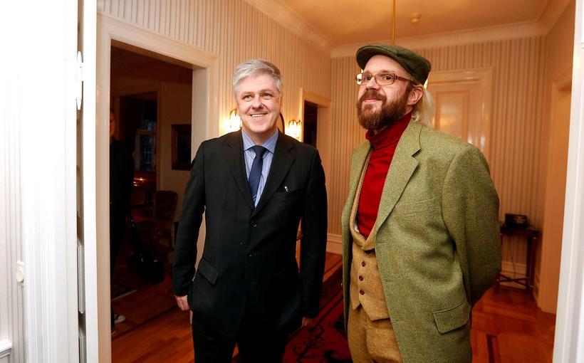 Óttarr Proppé og Benedikt Jóhannesson