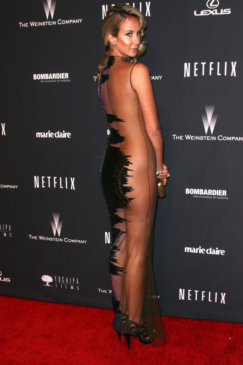 Lady Victoria Hervey at a party in 2014.