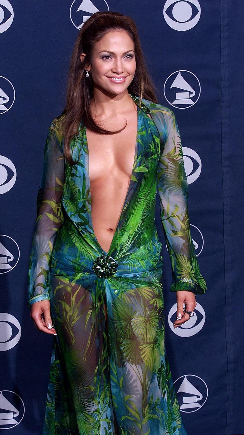 Jennifer Lopez árið 2000 á Grammy-hátíðinni.