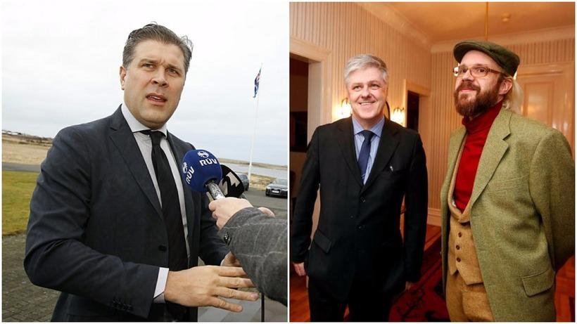 Benedikt Jóhannesson, formaður Viðreisnar, Óttarr Proppé, formaður Bjartrar framtíðar og ...