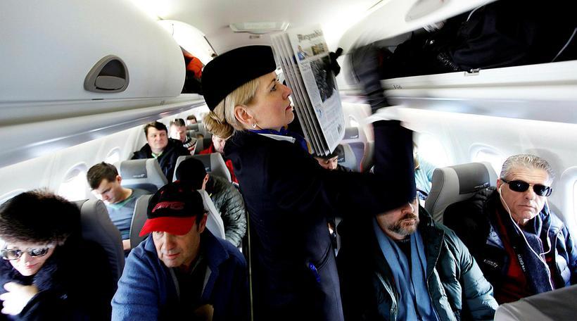 Hjá Icelandair eru um 1.000 stöðugildi flugfreyja og -þjóna.