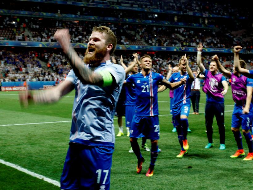 Aron Einar Gunnarsson was made famous for both his skills ...