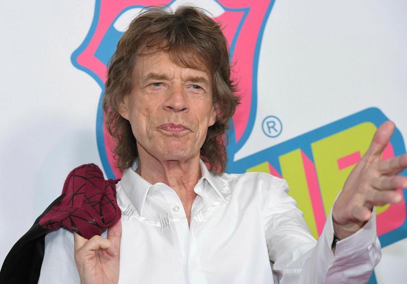Mick Jagger eignaðist sitt áttunda barn í desember.