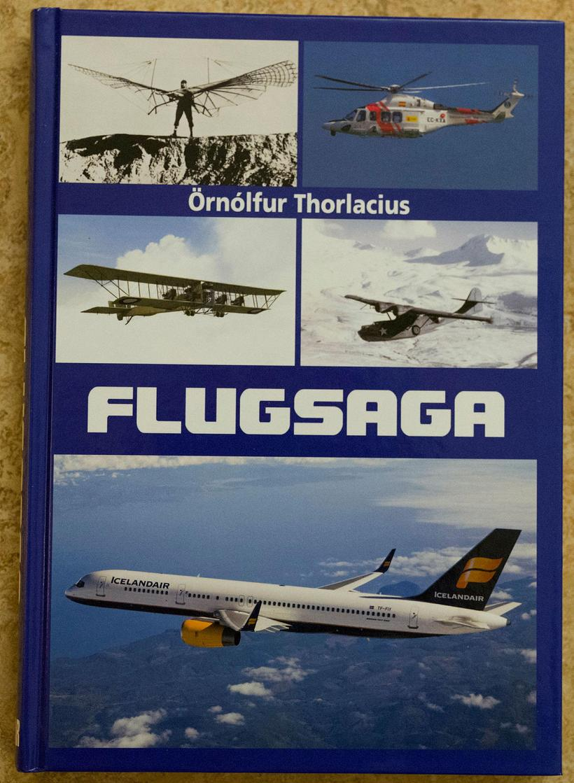 Kápa Flugsögu Örnólfs Thorlacius.