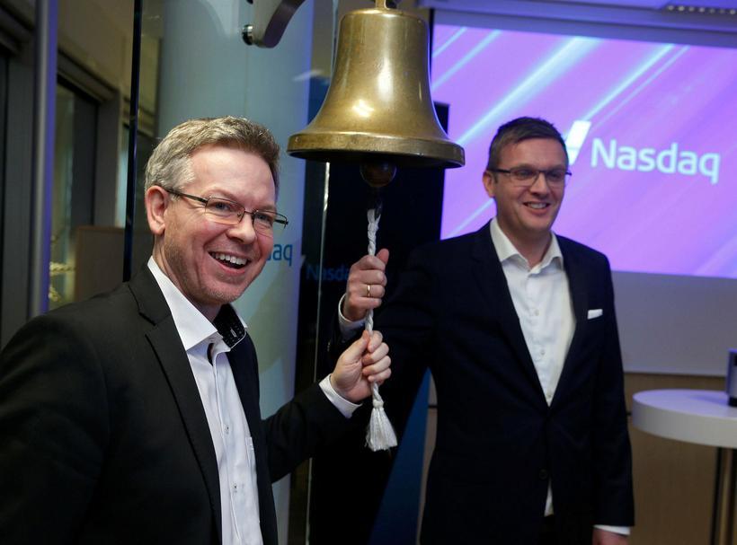Valgeir Baldursson og Hendrik Egholm
