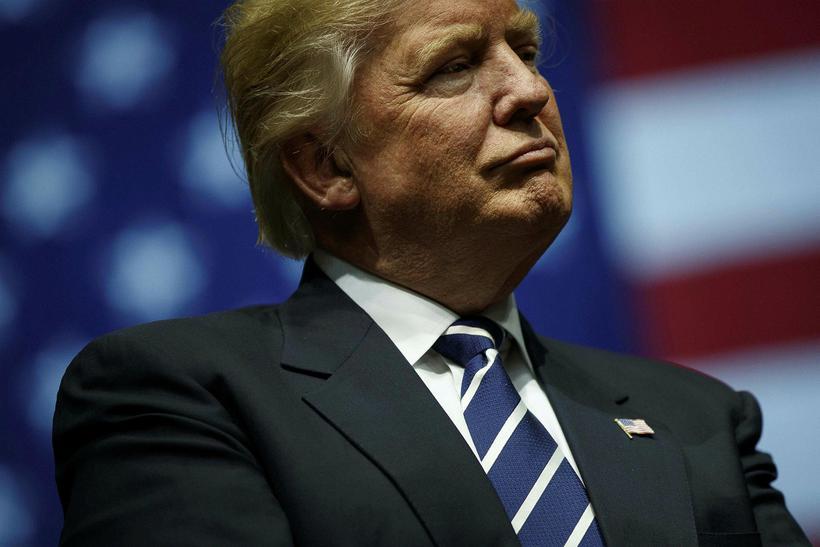 Donald Trump, nýkjörinn forseti Bandaríkjanna.