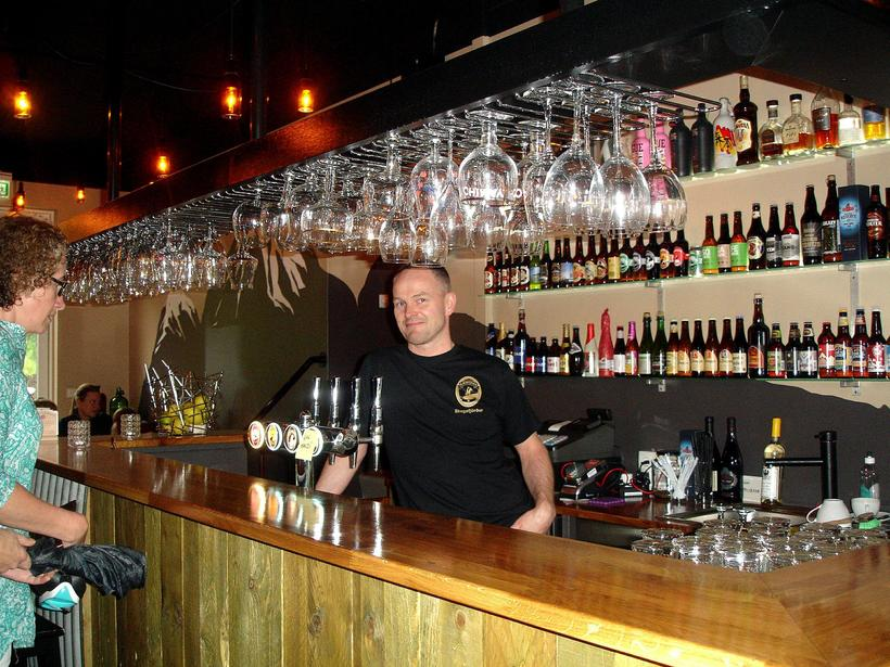 Microbar & Bed is a bar that offers a great ...