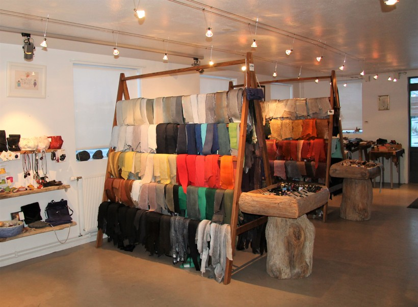 Atlantic Leather has a visitor centre at Sauðárkrókur