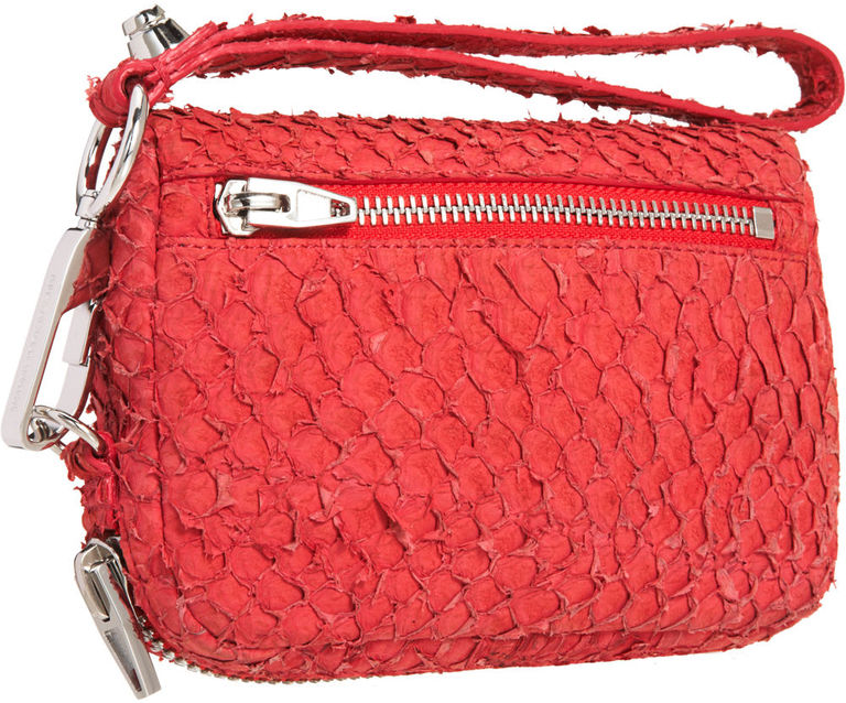 A purse made from fish leather by Alexander Wang