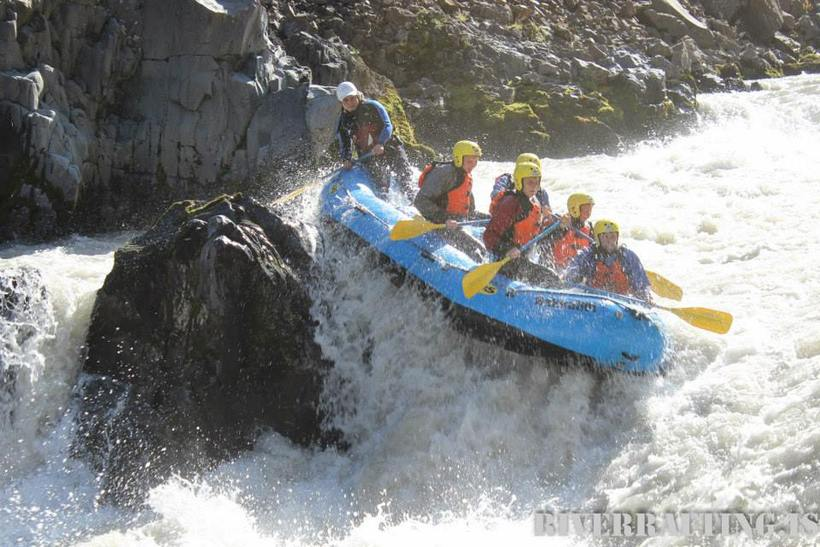 There are three rivers you can raft down in Iceland, ...