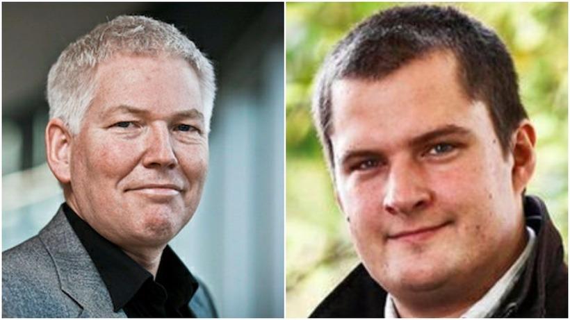 Jón Steindór Valdimarsson og Pawel Bartoszek, þingmenn Viðreisnar, eru nokkuð ...