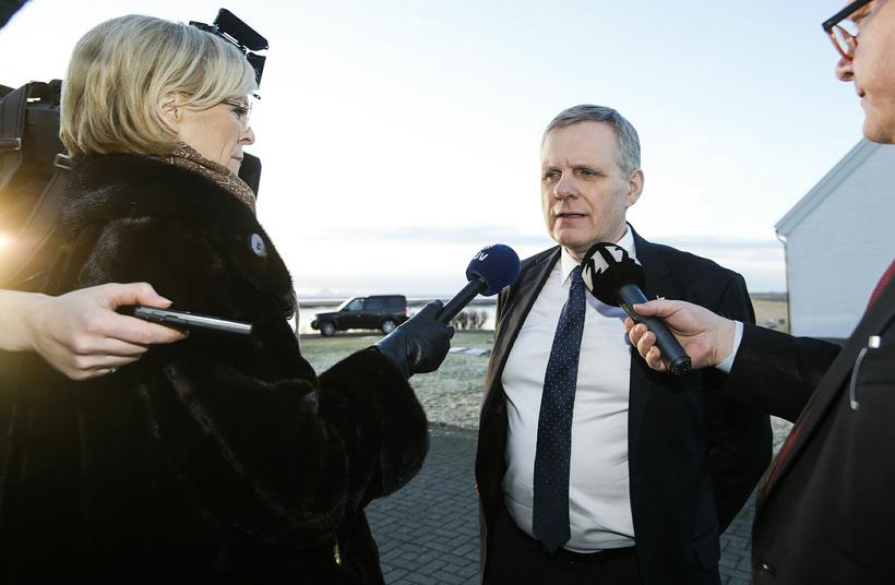 Jón Gunnarsson, samgöngu-, fjarskipta- og byggðamálaráðherra.