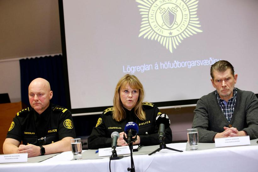 The Reykjavik Metropolitan Police host a press conference yesterday announcing ...