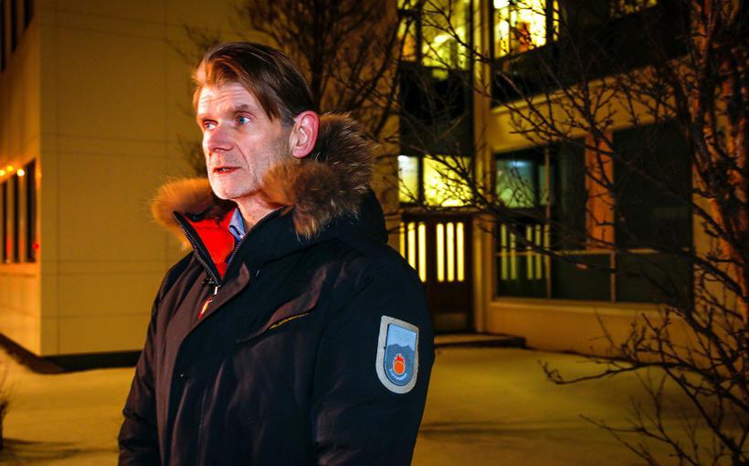 Police officer Grímur Grímsson who heads the investigation.