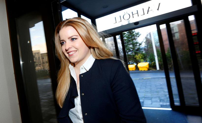 Áslaug Arna Sigurbjörnsdóttir, þingmaður Sjálfstæðisflokksins.