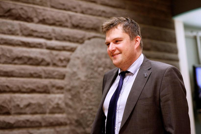 Pawel Bartoszek, þingmaður Viðreisnar.