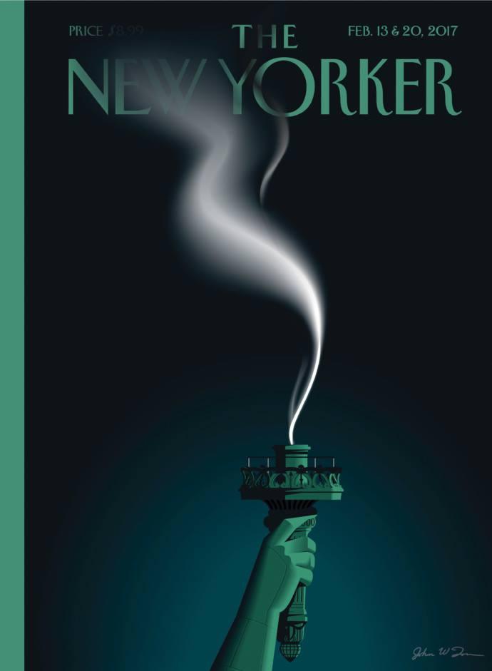 Forsíða New Yorker.