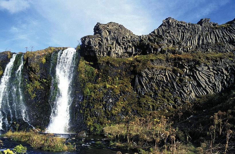 Rauðá river in Þjórsárdalur.