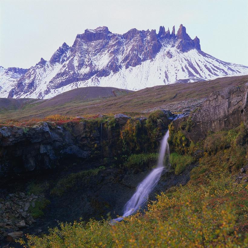 A small waterfall in Berufjörður