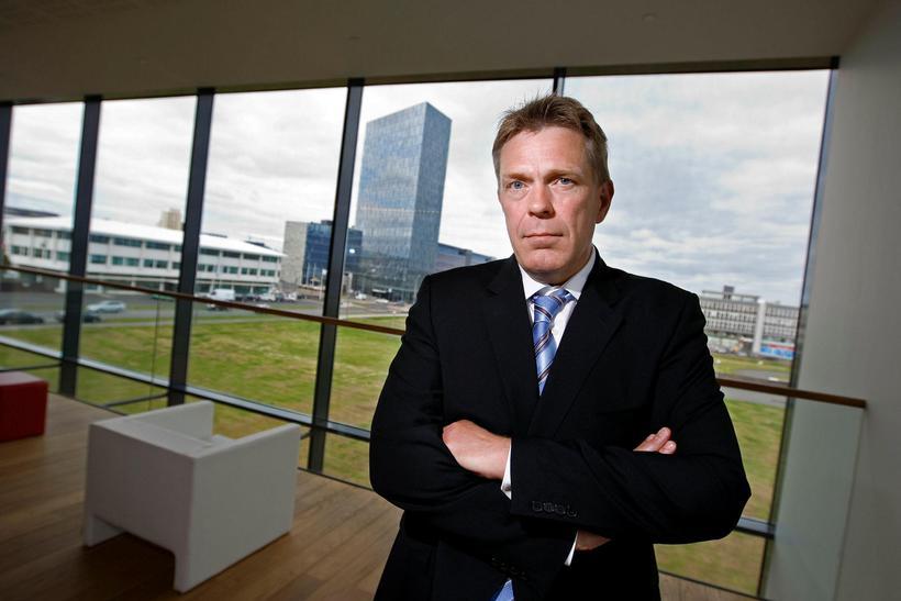 Höskuldur H. Ólafsson, bankastjóri Arion banka.