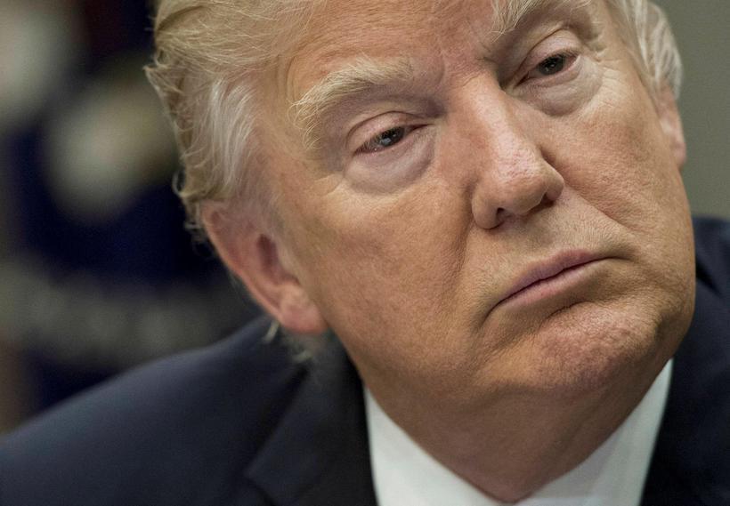 Donald Trump Bandaríkjaforseti.