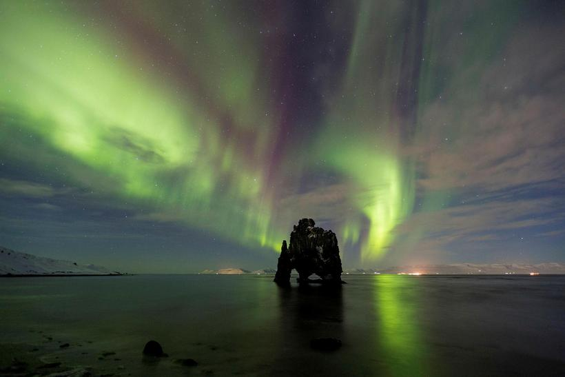 Hvítserkur is one of the iconic landmarks of North Iceland.